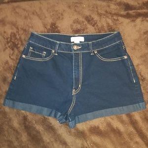 Forever 21 Jean Dark wash shorts